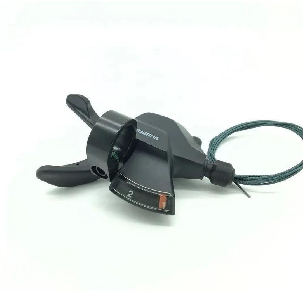 Trocador 2v Shimano Altus -M2010 Lado esquerdo S/manete