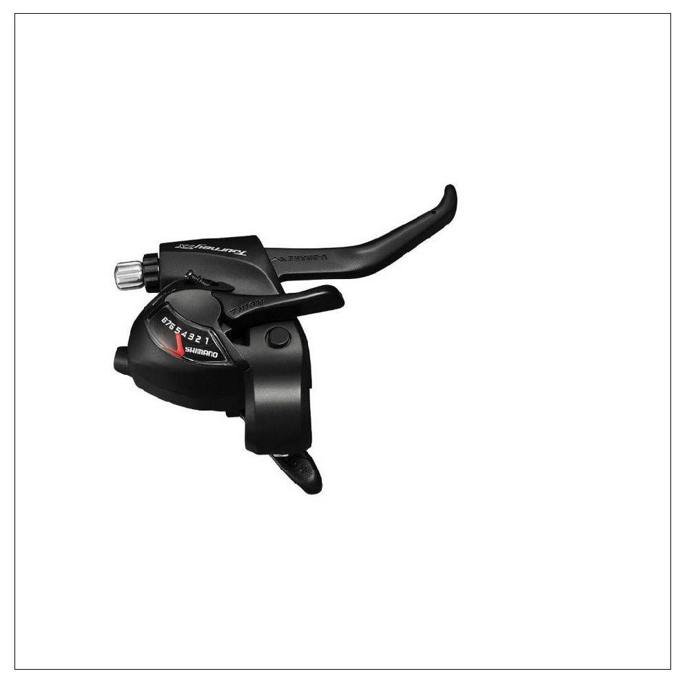 Trocador Alavanca Shimano Com Manete ST-EF500 8V Aluminio