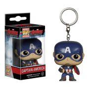 Chaveiro Pocket Pop - Capitão América - Vingadores