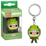 Chaveiro Pocket Pop - Rex - Fortnite