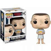 Funko Pop #511- Eleven (Hospital Gown) - Stranger Things