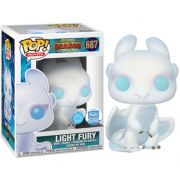 Funko Pop #687 - Light Fury - Como Treinar seu Dragão 3