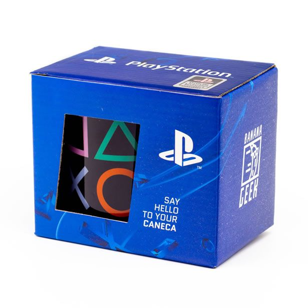 Caneca Gamer Playstation - Classic Symbols Color  - Pop Funkos