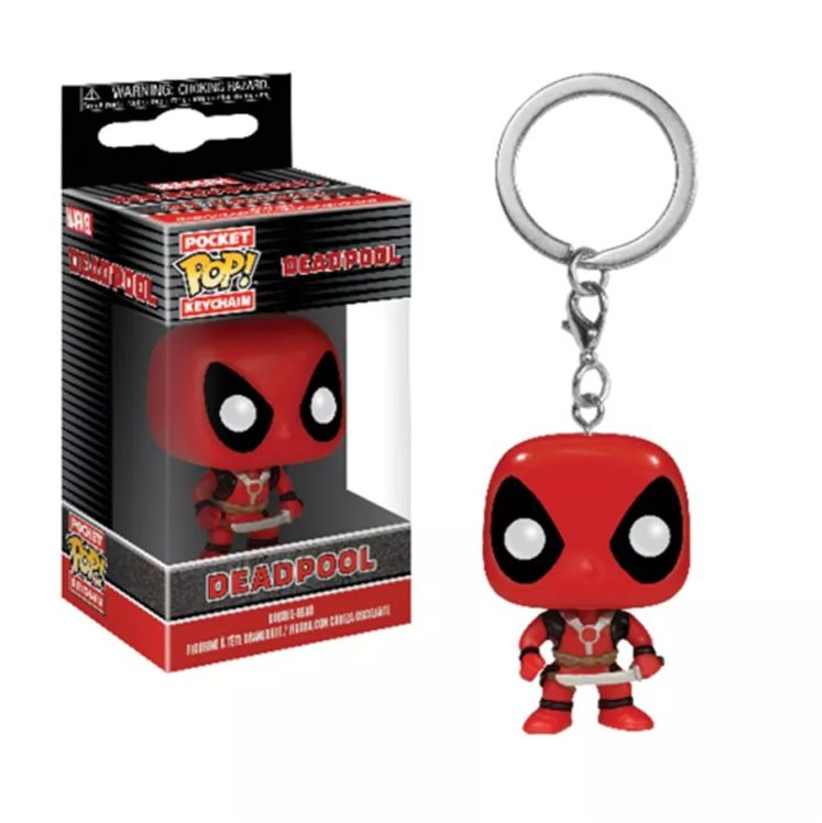 Chaveiro Pocket Pop - Deadpool - Marvel  - Pop Funkos