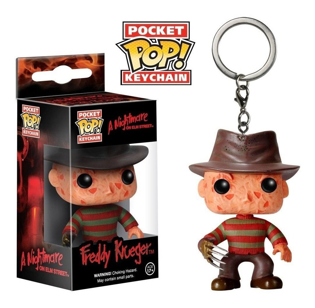 Chaveiro Pocket Pop - Freddy Kruegger   - Pop Funkos