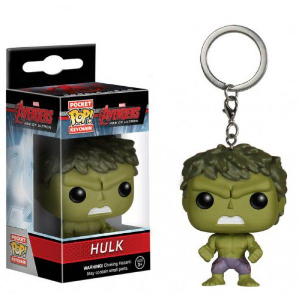 Chaveiro Pocket Pop - Hulk -Vingadores  - Pop Funkos