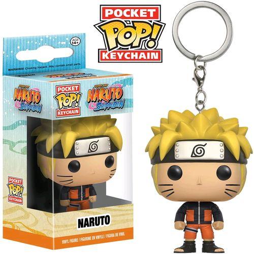 Chaveiro Pocket Pop - Naruto - Naruto Shippuden  - Pop Funkos