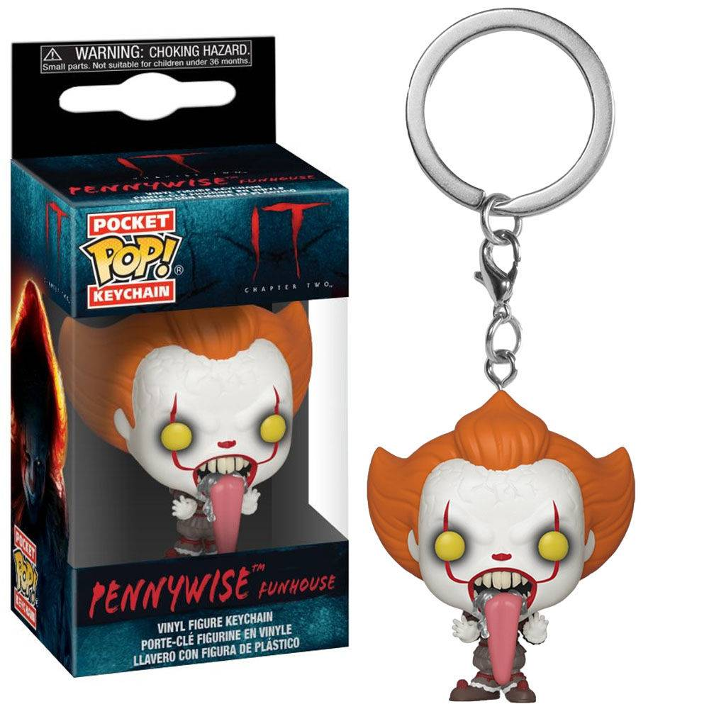 Chaveiro Pocket Pop - Pennywise (Funhouse) - IT  - Pop Funkos