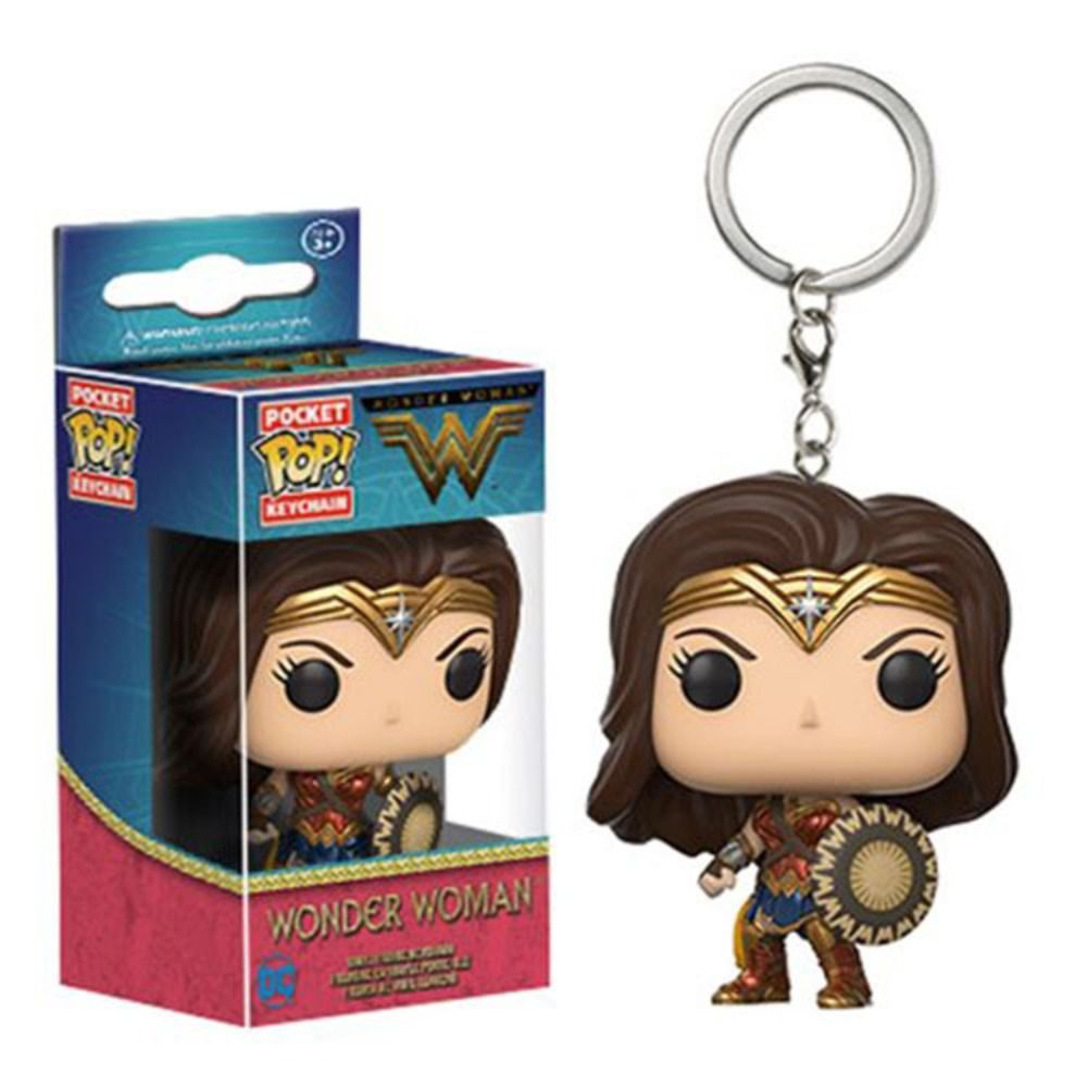 Chaveiro Pocket Pop - Wonder Woman   - Pop Funkos