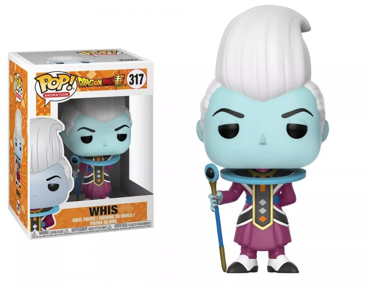 Funko Pop #317 - Whis - Dragon Ball  - Pop Funkos