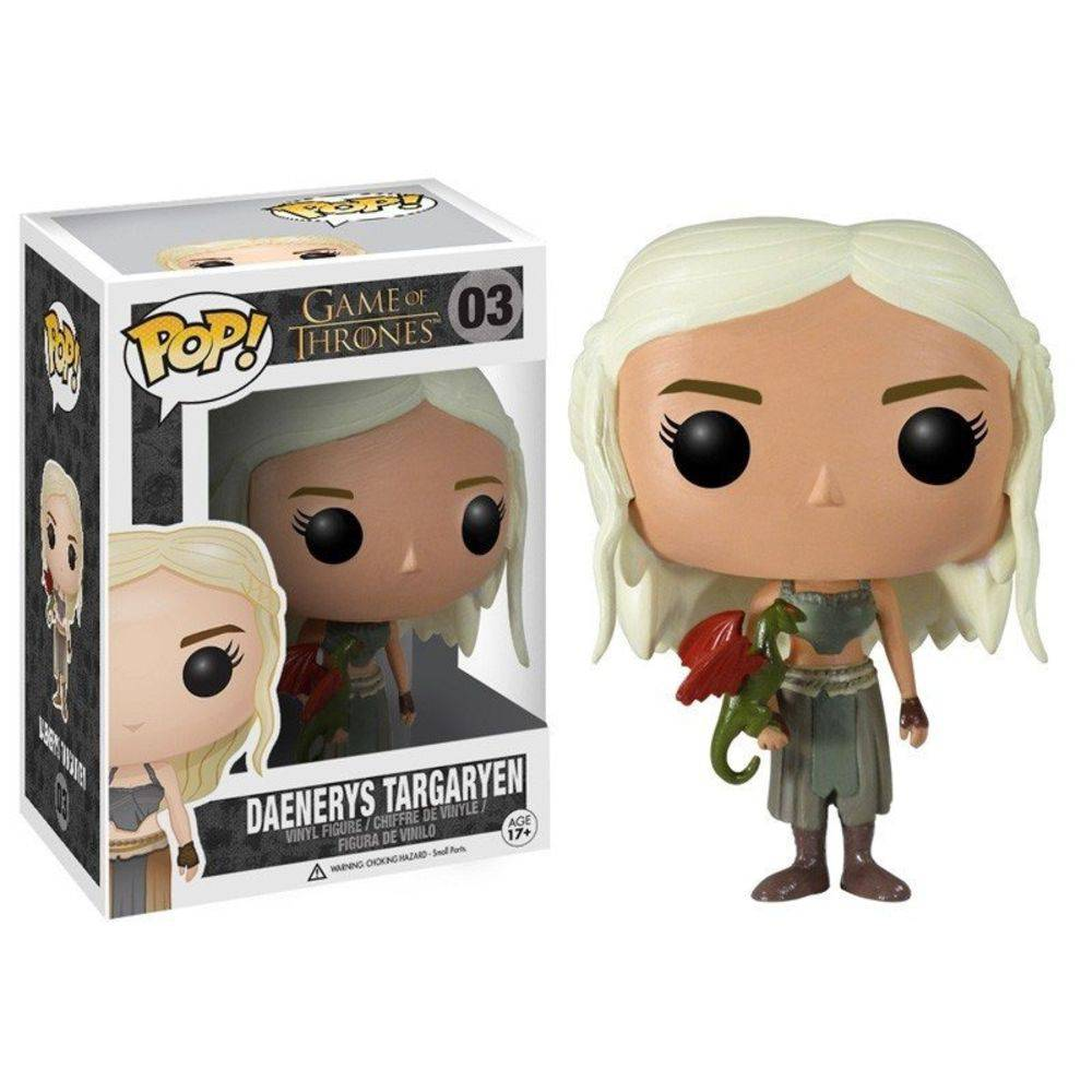 Funko Pop #03 - Daenerys Targaryen - Game of Thrones  - Pop Funkos