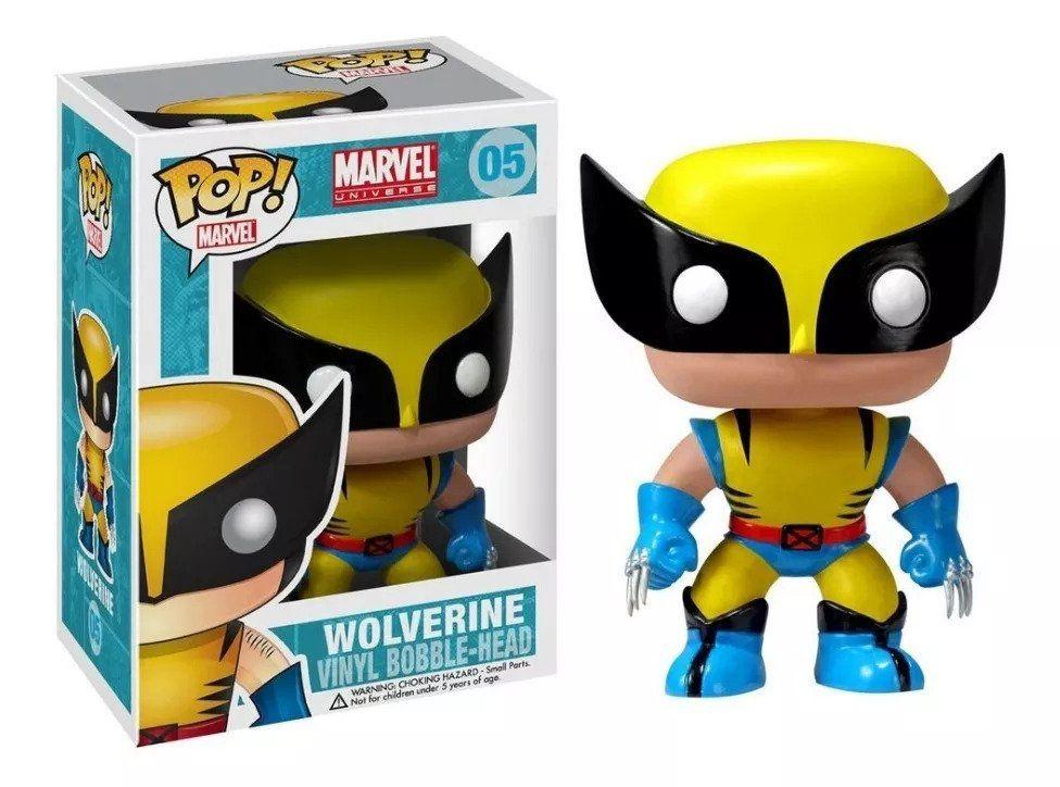 Funko Pop #05 - Wolverine - Marvel  - Pop Funkos