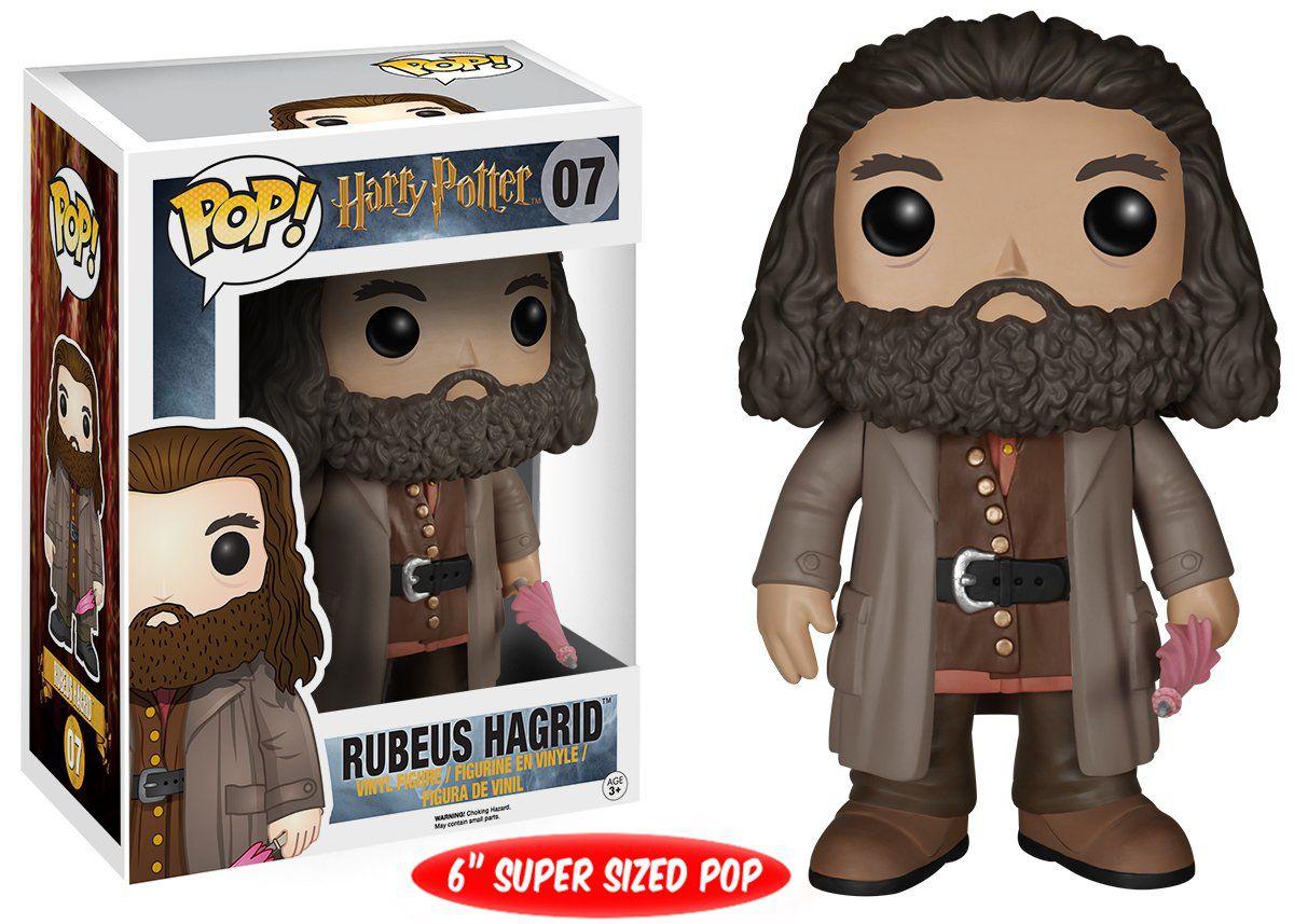 Funko Pop #07 - Rubeus Hagrid - Harry Potter  - Pop Funkos