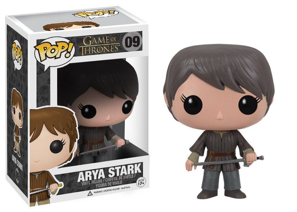 Funko Pop #09- Arya Stark - Game of Thrones   - Pop Funkos