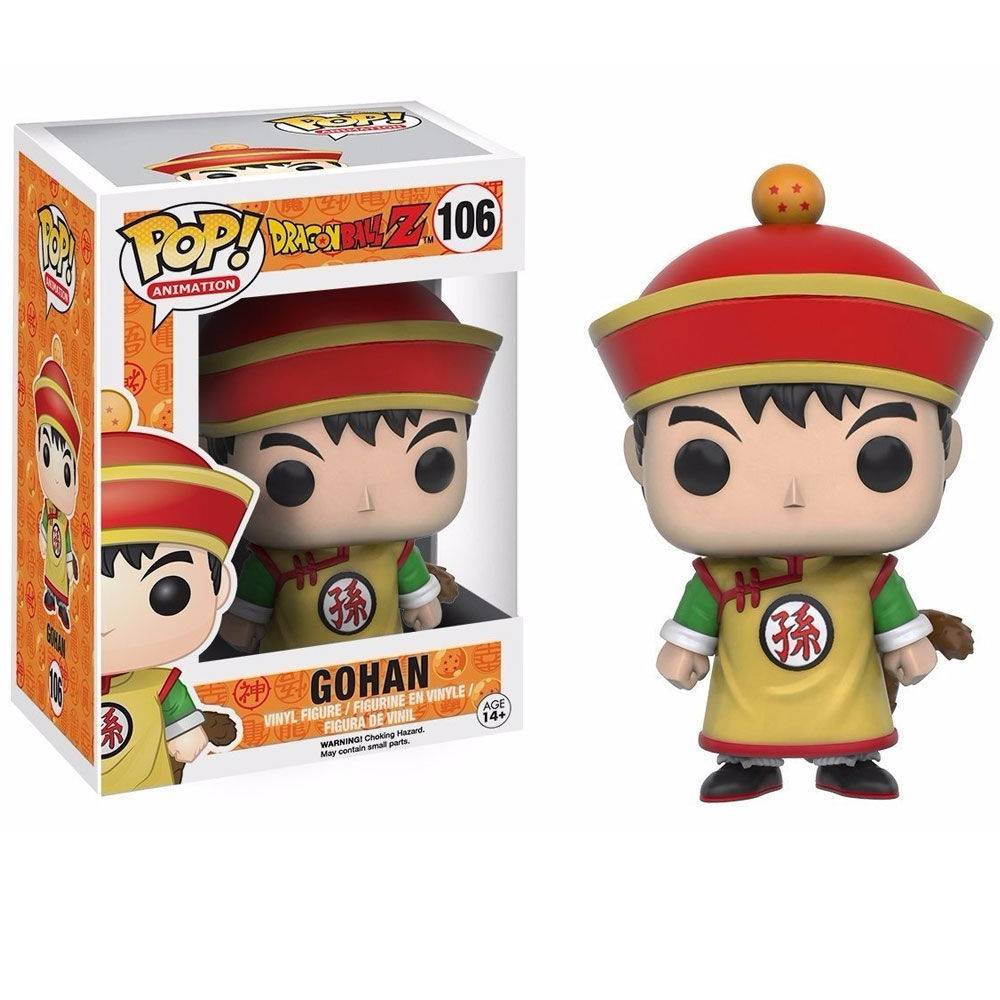 Funko Pop #106 - Gohan - Dragon Ball Z  - Pop Funkos