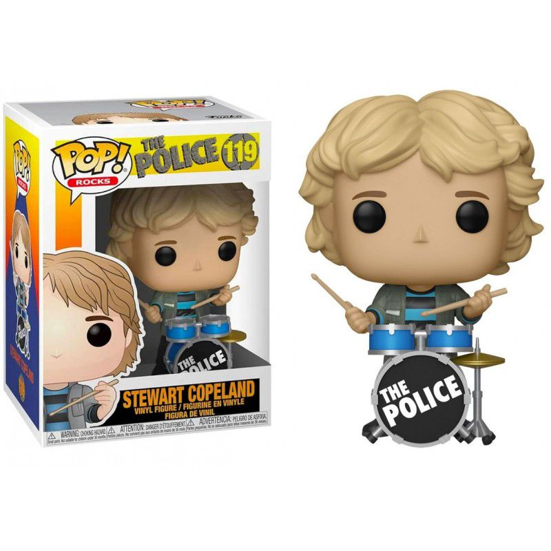 Funko Pop #119 - Stewart Copeland - The Police  - Pop Funkos