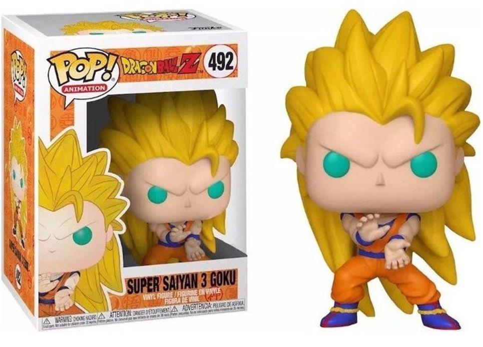 Funko Pop #492 - Super Saiyan 3 Goku - Dragon Ball Z  - Pop Funkos