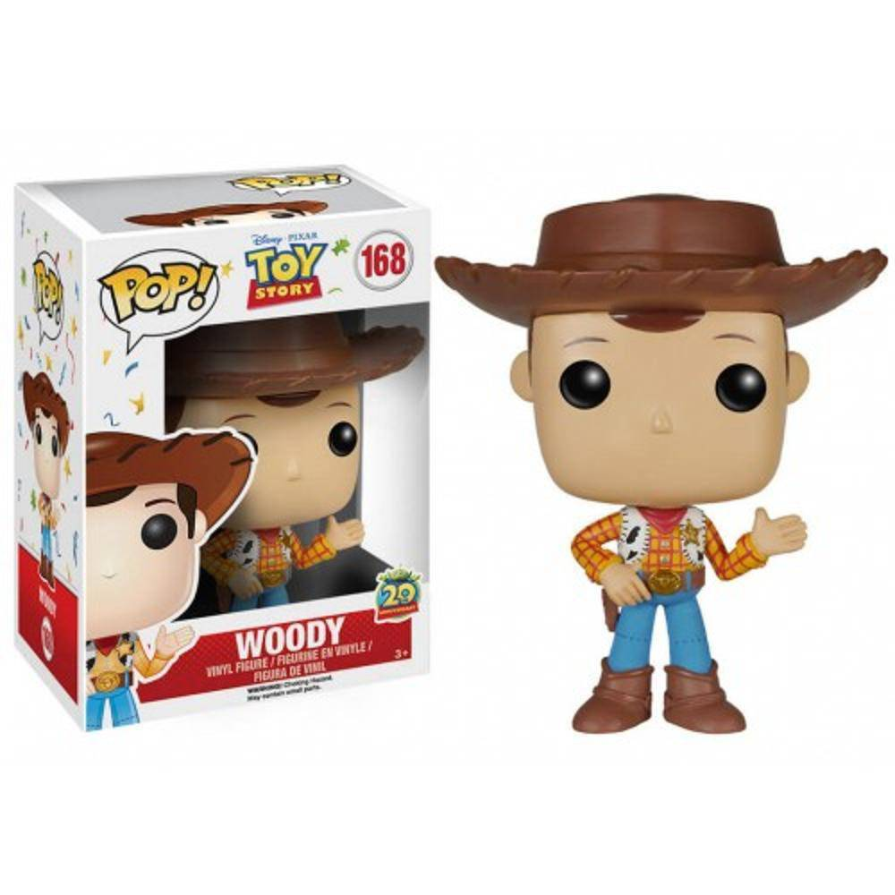 Funko Pop #168 - Woody - Toy Story  - Pop Funkos