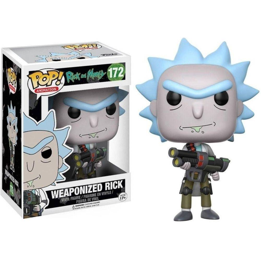 Funko Pop #172 - Weaponized Rick - Rick And Morty  - Pop Funkos