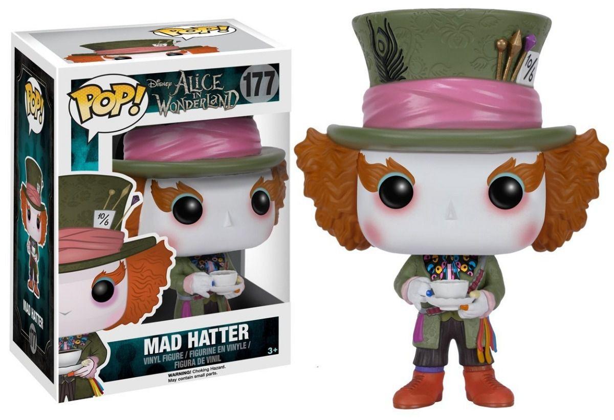 Funko Pop #177 - Mad Hatter  - Alice in Wonderland   - Pop Funkos
