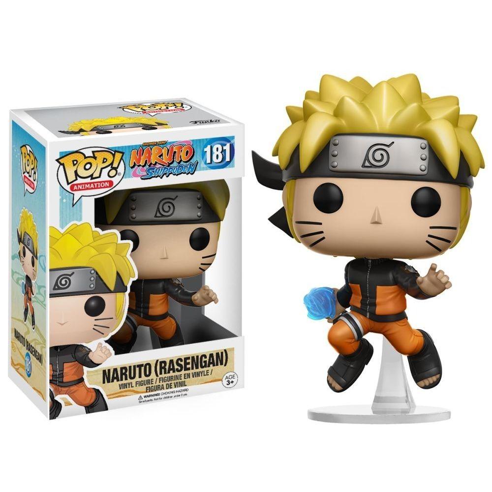 Funko Pop #181 - Naruto (Rasengan) - Naruto Shippuden  - Pop Funkos