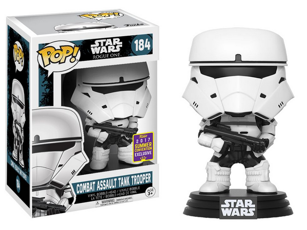 Funko Pop #184 - Combat Assault Tank Trooper - Star Wars  - Pop Funkos