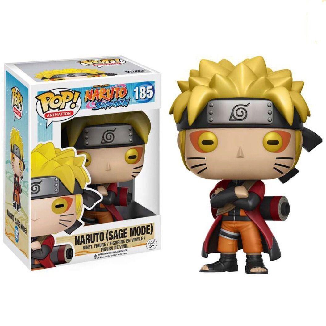 Funko Pop #185- Naruto (Sage Mode) - Naruto Shippuden  - Pop Funkos
