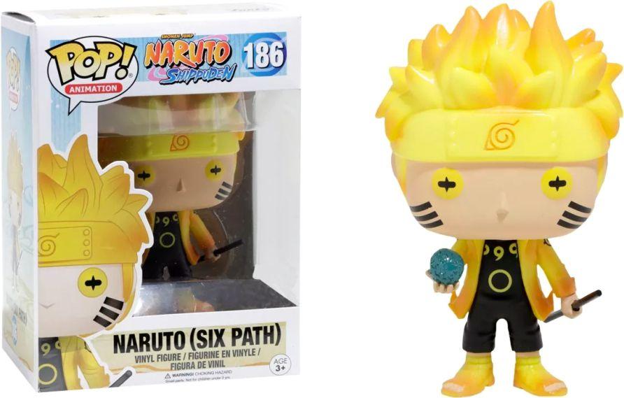 Funko Pop #186 - Naruto (Six Path) - Naruto Shippuden  - Pop Funkos