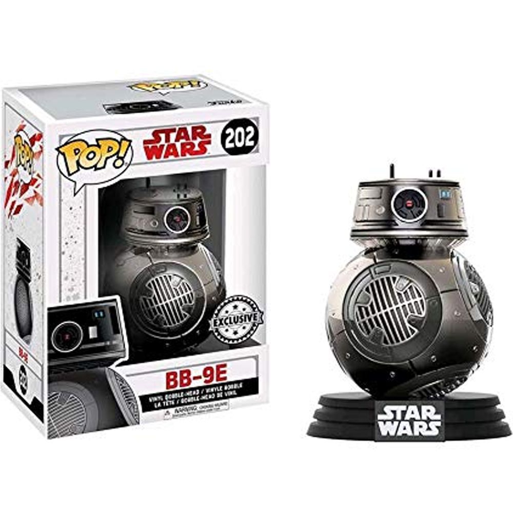 Funko Pop #202 - BB-9E - Star War  - Pop Funkos