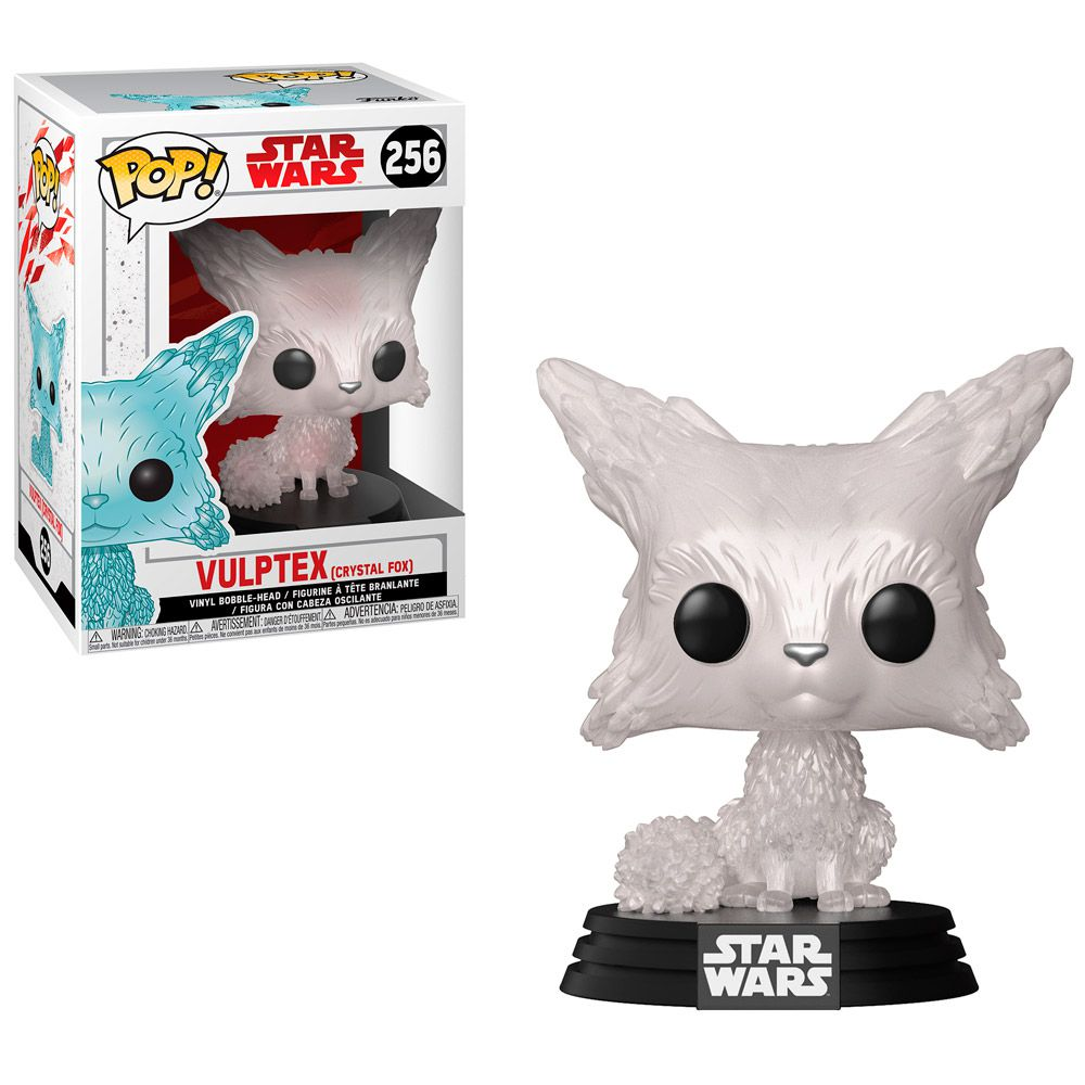 Funko Pop #256 - Vulptex (Crystal Fox) - Star Wars  - Pop Funkos