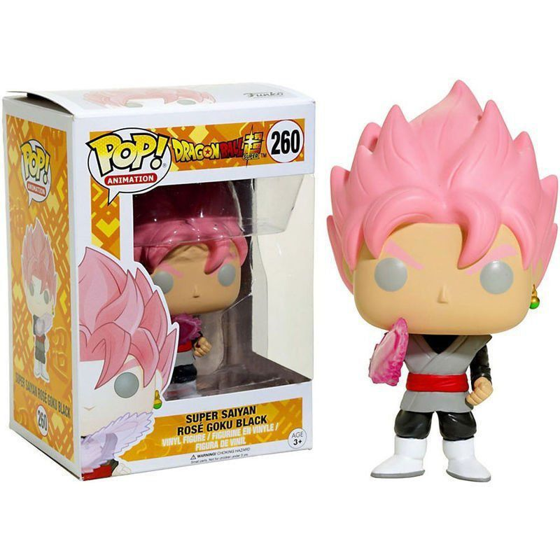 Funko Pop #260 - Goku Black Super Saiyan Rose - Dragon Ball Super  - Pop Funkos