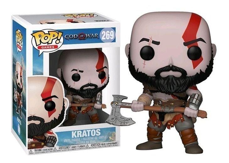 Funko Pop #269 Kratos - God Of War  - Pop Funkos