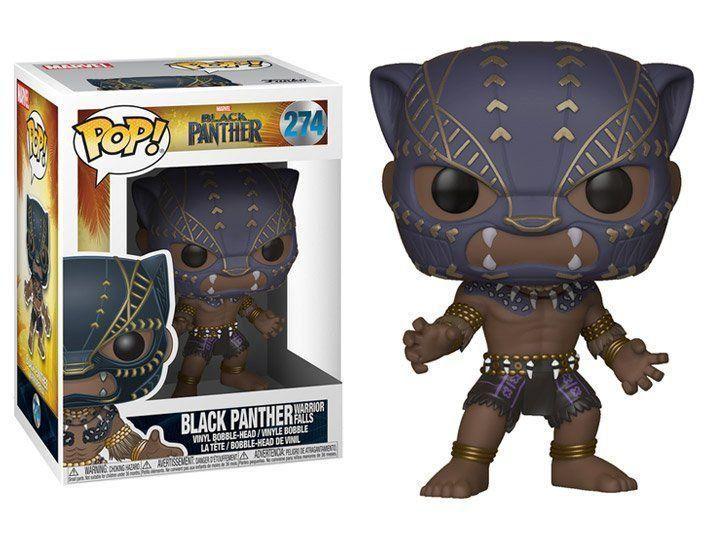Funko Pop #274- Black Panther Warrior Falls: Pantera Negra  - Pop Funkos
