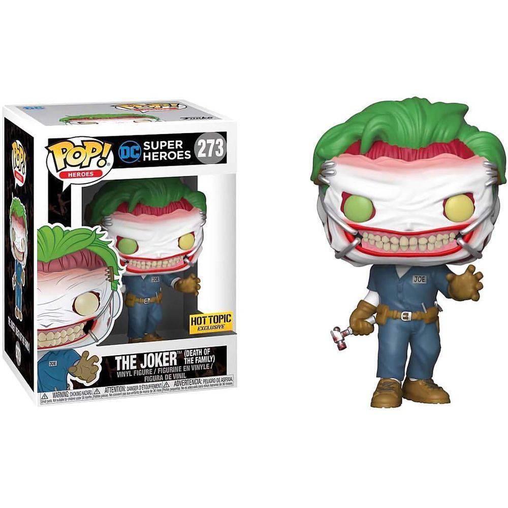 Funko Pop #273 - The Joker - DC Super Heroes  - Pop Funkos