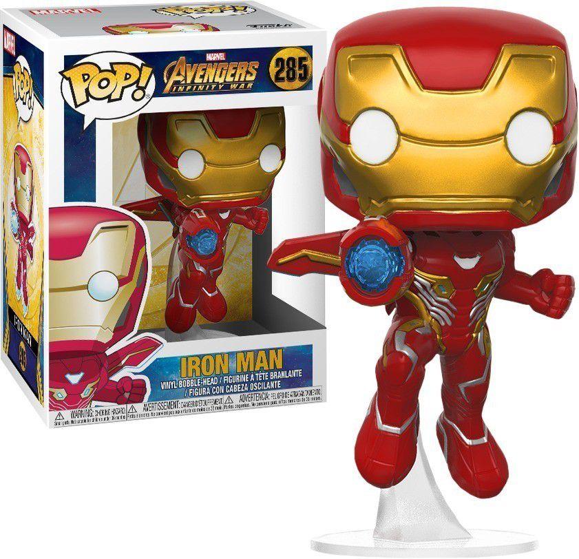Funko Pop #285 Iron Man - Infinity War  - Pop Funkos