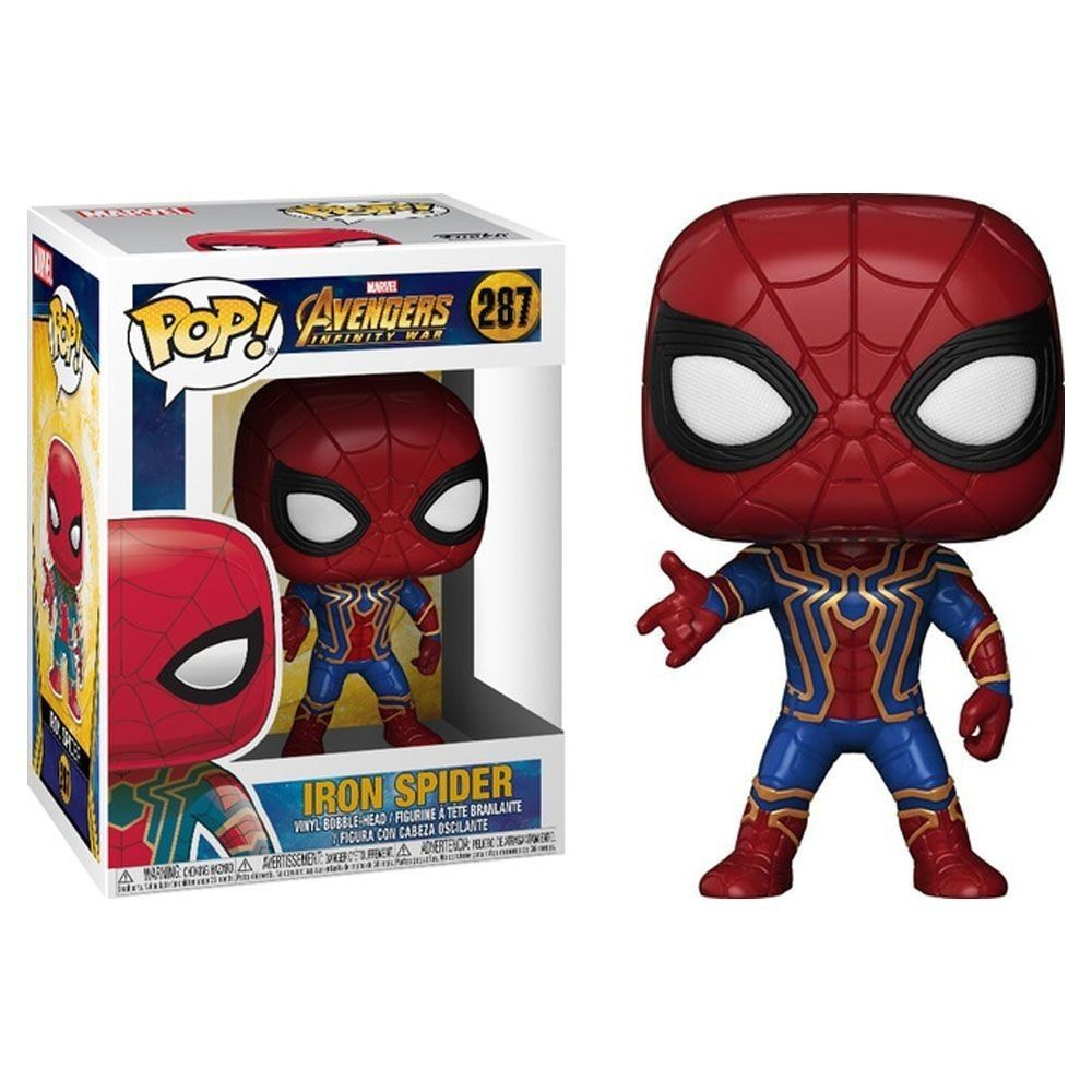 Funko Pop #287 - Iron Spider - Infinity War  - Pop Funkos
