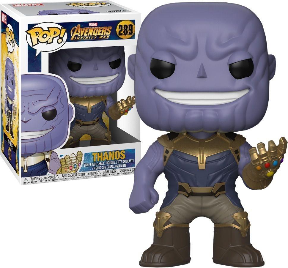 Funko Pop #289 - Thanos - Vingadores: Guerra Infinita   - Pop Funkos