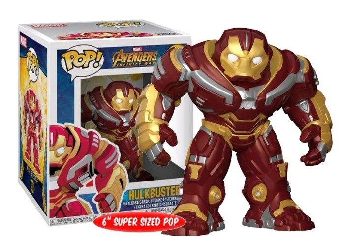 Funko Pop #294 - Hulkbuster - Vingadores Guerra Infinita  - Pop Funkos