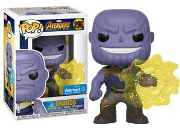 Funko Pop #296 - Thanos - Vingadores: Guerra Infinita   - Pop Funkos