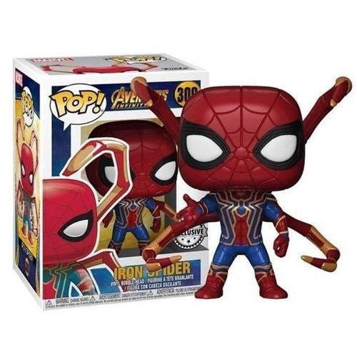 Funko Pop #300 - Iron Spider - Vingadores: Guerra Infinita   - Pop Funkos