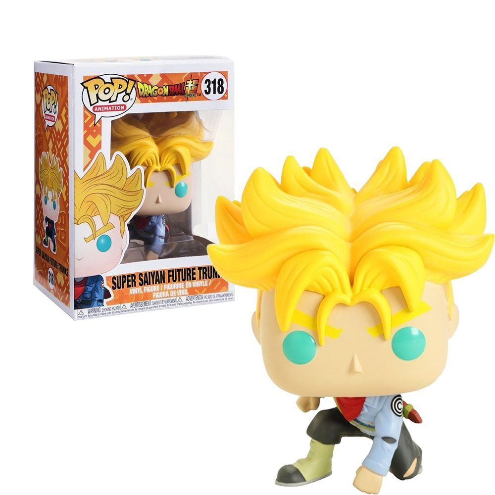 Funko Pop #318  - Super Saiyan Future Trunks - Dragon Ball Z  - Pop Funkos