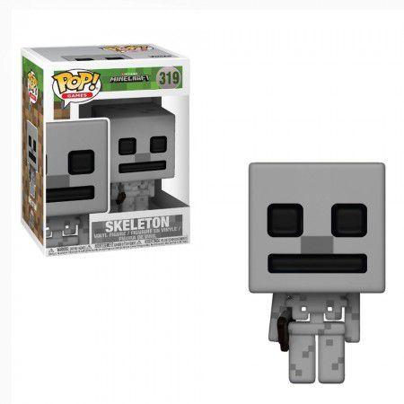 Funko Pop #319 - Skeleton - Minecraft  - Pop Funkos
