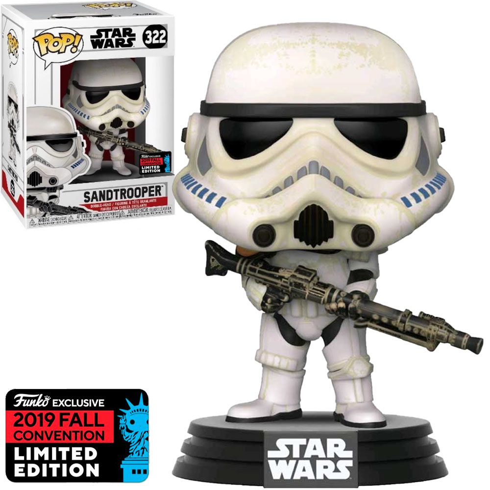 Funko Pop #322 - Sandtrooper - Star War  - Pop Funkos