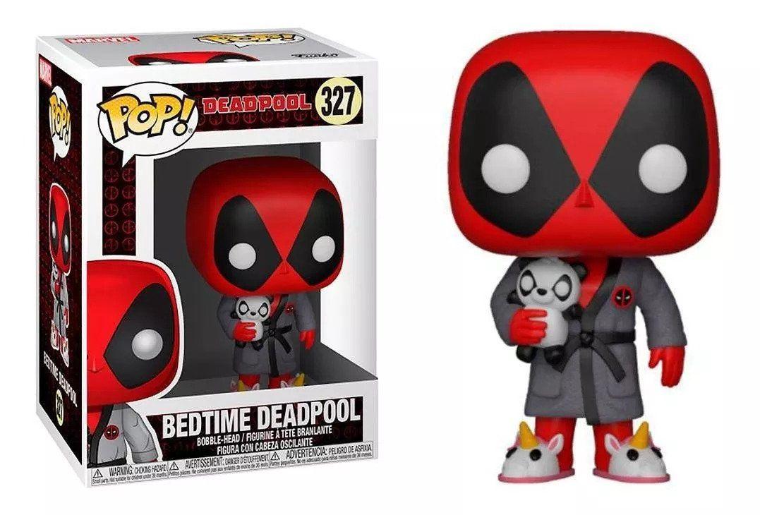 Funko Pop #327 - Bedtime - Deadpool  - Pop Funkos
