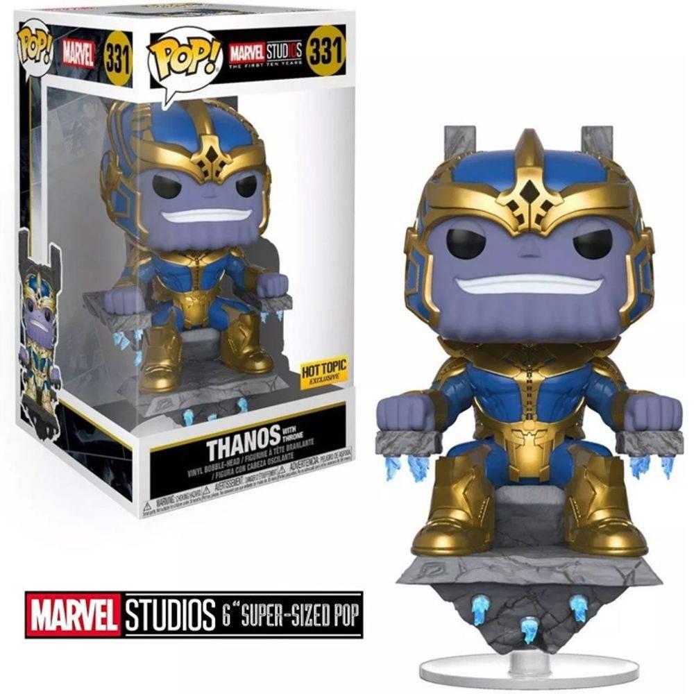Funko Pop #331 - Thanos - Marvel Studios  - Pop Funkos