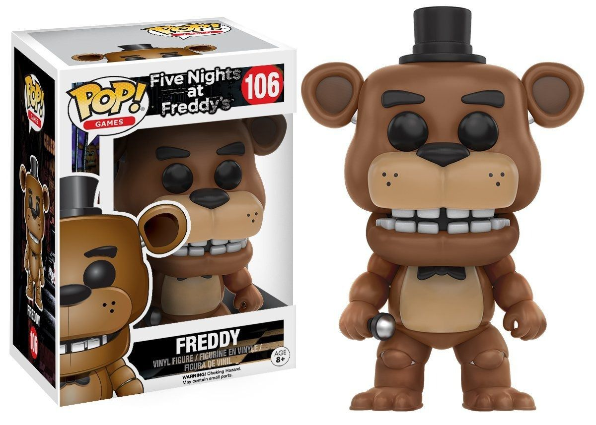 Funko Pop #106 - Freddy - Five Nights At Freddy