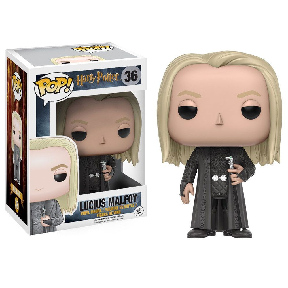Funko Pop #36- Lucius Malfoy Harry Potter  - Pop Funkos
