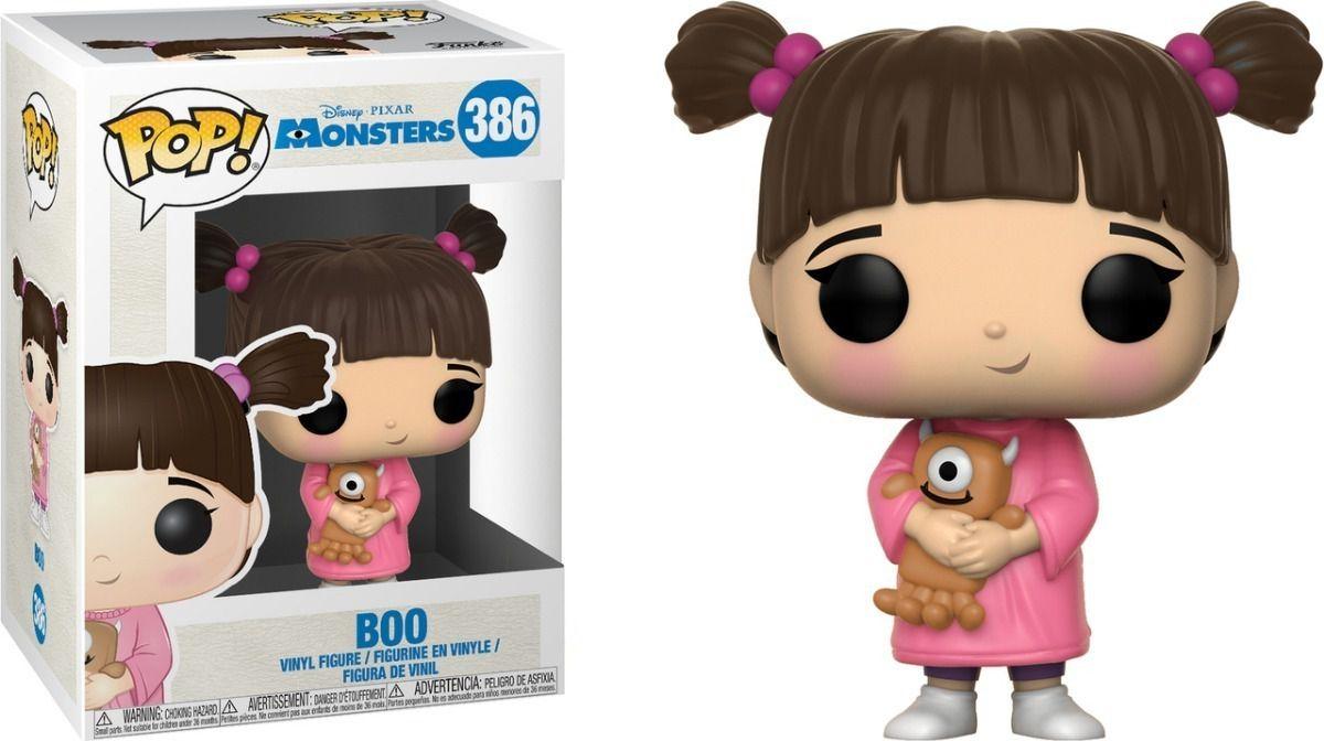 Funko Pop #386 - Boo - Monstros SA  - Pop Funkos