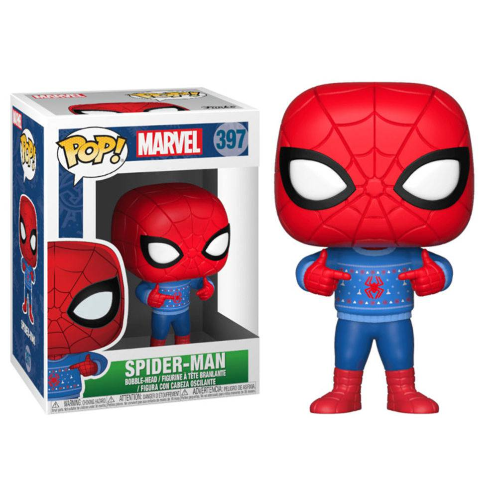 Funko Pop #397 - Spider-Man - Marvel  - Pop Funkos