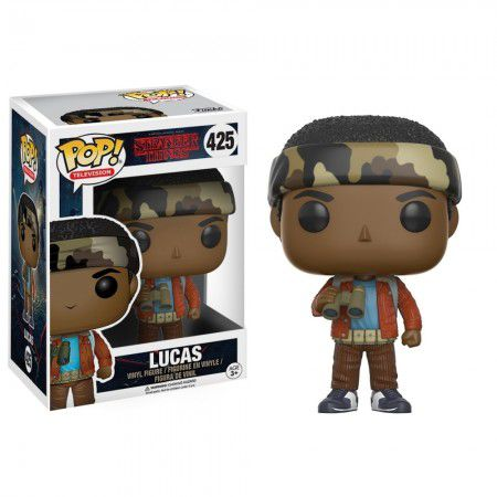 Funko Pop #425 - Lucas - Stranger Things  - Pop Funkos